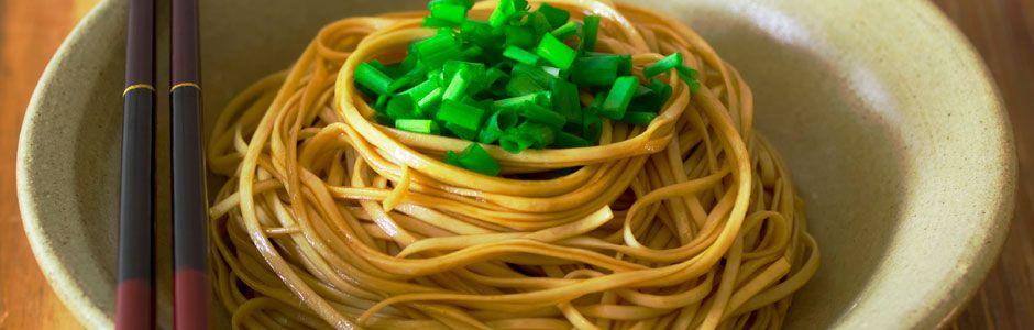 Noodles in Bowls