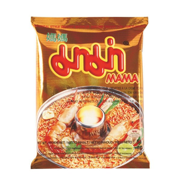 Mama Instant Tom Yum Garnalen|Room Noedels Jumbo Pack 55 g