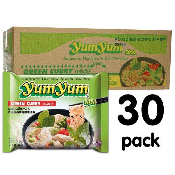 Yum Yum  Groene Curry 30-pack