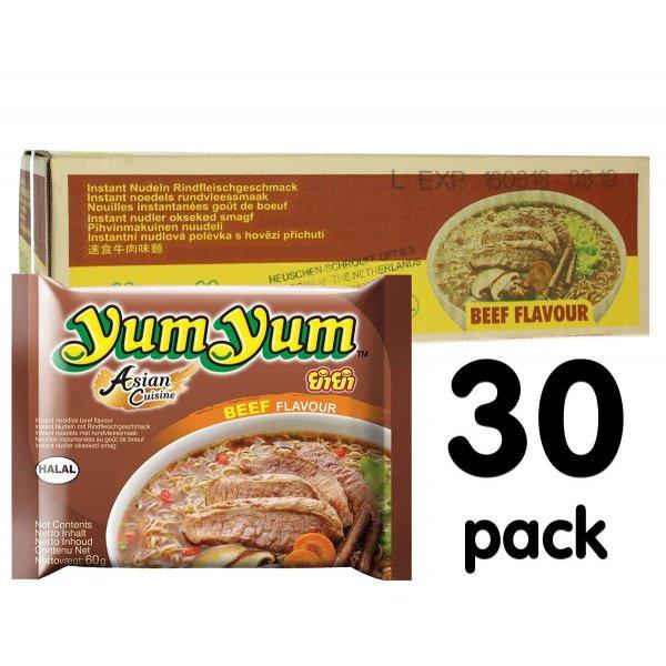 Yum Yum Rundvlees - 30-pack