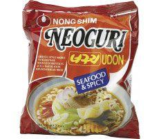 Instant Neoguri Zeevruchten Noedels Heet 120 gram