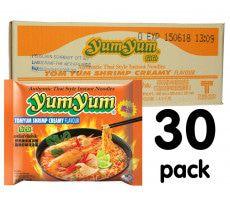 Yum Yum Tom Yum Garnaal Creme  - 30-pack