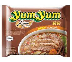 Yum Yum Instant Rundvlees Noedels